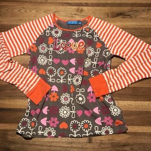 Children's place girls long sleeve size 10/12